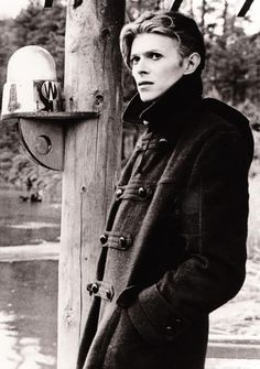 David Bowie: one of my style icons. He's not really a man that makes music, he's a lifestyle choice.