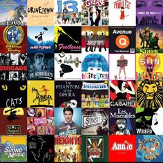 Some of my favorite shows! #Broadway rules:3