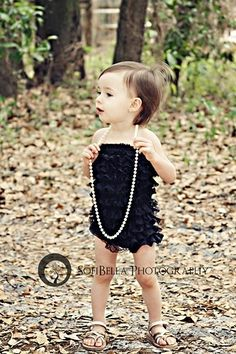 Adorable - Love the ruffle jumper!!