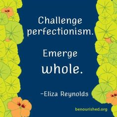 #perfectionism #recovery