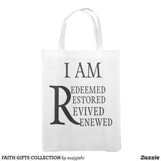 FAITH GIFTS COLLECTION GROCERY BAG