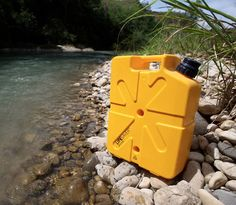 Lifesaver Jerrycan - When you're way out in the wild and the water supply at camp is of questionable quality, the Lifesaver Jerry Can will keep you and your cub scouts from splattering the countryside in fits of bacteria-induced sickness. The sturdy 18.5-liter Jerrycan filters & removes all bacteria, viruses, cysts, parasites, fungi & other microbial waterborne pathogens.