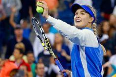 Eugenie Bouchard: «C'était une atmosphère de spectacle» US Open 2014