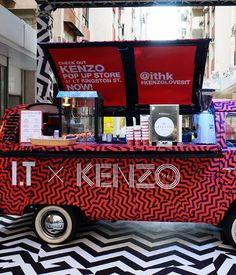 8 Fashion-and-Food Mashups We Love Right Now – Condé Nast Traveler 8 Fashion-and-Food Mashups We Love Right Now Kenzo mobile shop and café