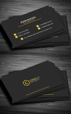 Construction Business Card: