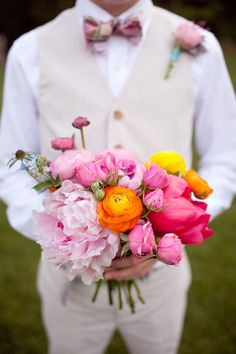 Camille + Mark; flowers by Amy Osaba event.floral.design; photography by Gina Zeidler