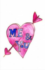 Me & You Printable Valentines Day Cards, Cute Cards, Free Printables, Hand Painted, Words, Fun, Inspiration, Biblical Inspiration, Pretty Cards