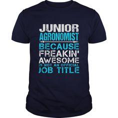 JUNIOR AGRONOMIST T-Shirts, Hoodies. VIEW DETAIL ==► https://www.sunfrog.com/LifeStyle/JUNIOR-AGRONOMIST-Navy-Blue-Guys.html?id=41382