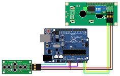 Zelectro - Z- LCD I2C модуль взаимосвязь с Z- Keyboard модулем