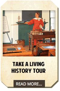Living History Tours in Historic Roscoe Village