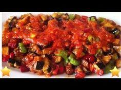 Tadamadım, yiyemedim demeyin sizde yapın bir şakşuka :) Malzemeler: 3 - 4 adet patlıcan 1 - 2 adet yeşil biber 1 adet orta boy kuru soğan 3 diş sarımsak 3 - 4 adet domates 1 tatlı kaşığı salça 1 çay bardağı su 1 çay kaşığı şeker Tuz Zevkinize göre baharatlar Sıvı yağ Hazırlanışı: Patlıcanları küp küp doğrayıp tuzlu suya koyun,bir müddet bekletin. Soğanı, biberi ince ince doğrayın. Domatesleri de küçük küpler halinde doğrayın.Sarımsağı ezebilir veya ince ince doğrayabilirsiniz. Patlıca...