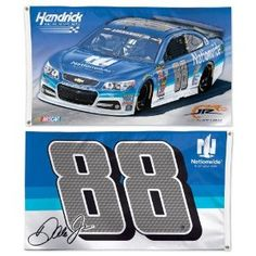 Dale Earnhardt Jr #88 2015  Double-Sided Horizontal Flag, #68806015