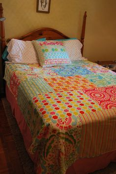 How To Sew A Quilt Out of Fat Quarters