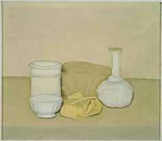 Giorgio Morandi, Natura .  There is something wonderful about a simple still life.