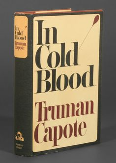 1965 first edition, In Cold Blood