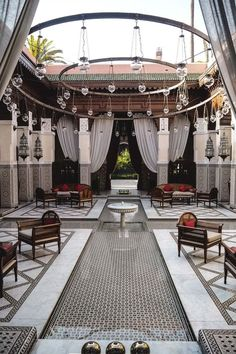 The Royal Mansour Marrakech Morocco