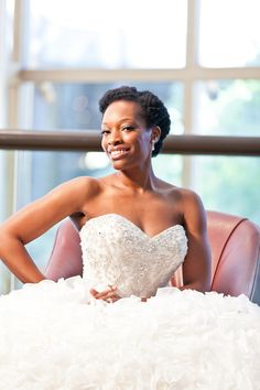 natural african Wedding hairstyles | ... featured on Natural Hair Bride and more natural hair wedding styles