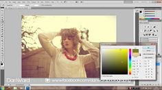 Vintage Summer Colouring Photoshop CS5 - Cross Processing Tutorial