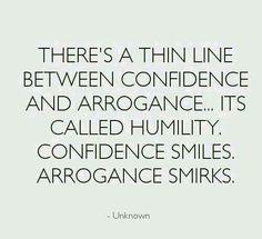 I smile... you smirk... it's obvious. :)