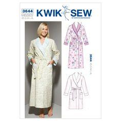 Mccall Pattern K3644 Xs-S-M-L-X-Kwik Sew Pattern