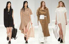 We LOVE this! Modellen tijdens London Fashion Week. Bekijk het op www.ayamagazine.nl