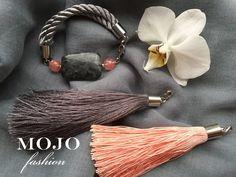MOJO fashion / Bracelet with 2 Tassels