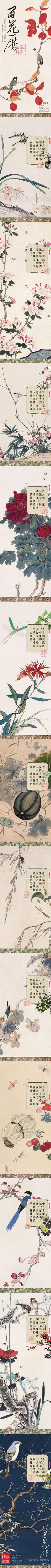 Chinese Flowers Calendar