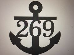Items similar to Anchor House Numbers / Wedding Name Sign / Beach themed / Ocean Address Sign / House number / House Address / Ships Priority on Etsy Lake Decor, Coastal Decor, Wedding Name, Wedding Signs, Anchor Signs, House Address, Dream Beach Houses, Family Name Signs, Nautical Home