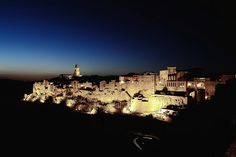 Pitigliano by night by Vincenzo Sagnotti, via Flickr