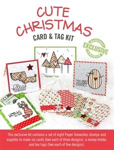 Exclusive Cute Christmas Card and Tag Kit - available only while supplies last!