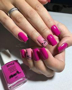 Gel Uv Nails, Toe Nails, Acrylic Nails, Types Of Manicures, Best Nail Art Designs, Nail Bar, Mink Eyelashes, Cool Nail Art, Manicure And Pedicure