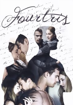 Shailene Woodley & Theo James (Tris & Four - Divergent) Divergent Fan Art, Divergent Four, Divergent Hunger Games, Tris And Four, Divergent Fandom, Divergent Trilogy, Divergent Insurgent Allegiant, Theo James, Maze Runner