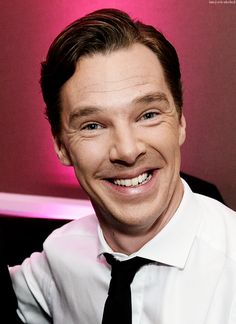Benedict Cumberbatch. I think this is my favorite picture.