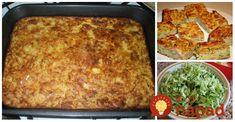 Geniálny letný obed, robím ho aj dvakrát za týždeň. Dá sa obmieňať na milión spôsobov, môžete napríklad pridať mleté mäso,kuracie mäso, alebo pripraviť verziu celkom bez mäska. Navyše, je to perfektný spôsob, ako zužitkovať zvyšky z chladničky. Slovak Recipes, Vegan Recipes, Kitchen Hacks, Vegetable Recipes, Lasagna, Zucchini, Food And Drink, Vegetables, Ethnic Recipes