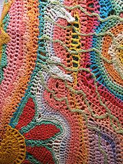 wonderful freeform crochet inspiration. I don't think I could ever do this, but I love it!