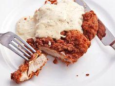 Chicken-Fried Chicken With Cream Gravy