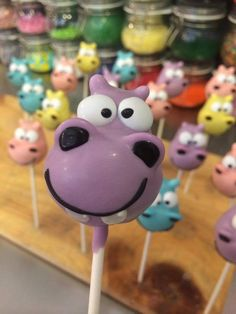 @lil cutie pops red bank hippo!  Give us a call to place your order 732.383.5602  Lil Cutie Pops in Red Bank New Jersey  #hippo #cakepop #party ORDER ONLINE: http://squ.re/1ByCj5S