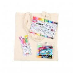 Thats Original Tulip Markers Mega Bundle and Cotton Tote Bag | The Craft Channel