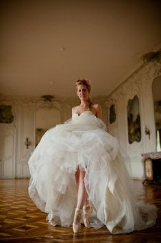 Even though I don't dance ballet anymore, I'm totally doing this as a pose if I can still stand in my pointe shoes! ;)