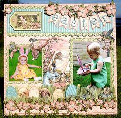 Easter! - Scrapbook.com  Wendy Schultz onto Scrapbook Art,