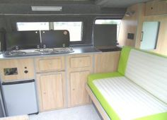 Type 25 T3 camper interior by Sterling Automotive