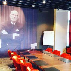 Långvikin Kekkoslounge #långvik #kekkoslounge #kirkkonummi #meetingroom #kokoustila