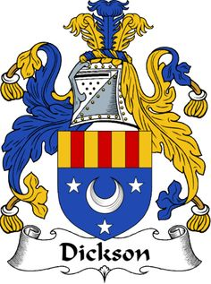 dickson clan coat of arms dickson clan news