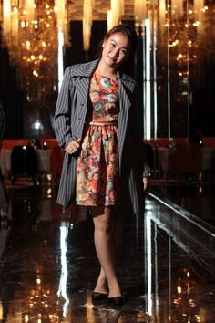 Floral Elegance #fashion #fashionblogger #floral #dress #ootd
