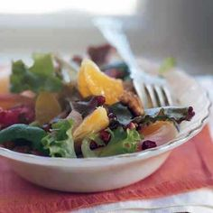 Clementine Salad with Spiced Walnuts and Pickled Onions by Cooking Light