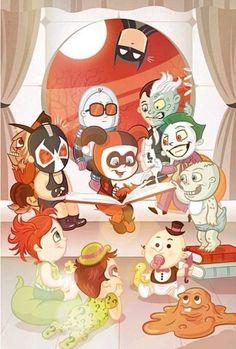 Female Villains, Geek Out, Animation Series, Harley Quinn, Bowser, Comic Art, Dc Comics, Geek Stuff, Batman