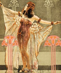Movie poster for Cleopatra starring Theda Bara, 1917. ~via vintagegal