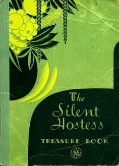 The Silent Hostess Treasure Book, 1932 - vintage illustration - almost feel the void and the silence hanging in the room.