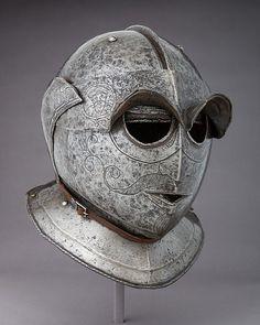 Siege Helmet. Italy, c. 1625. The Metropolitan Museum of Art