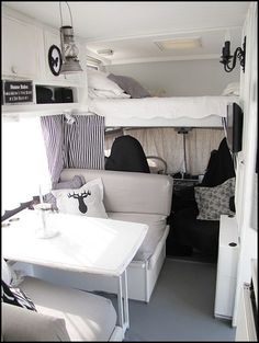 Nice 70+ Simple Motorhome Interiors Decor Ideas https://homearchite.com/2017/06/19/70-simple-motorhome-interiors-decor-ideas/